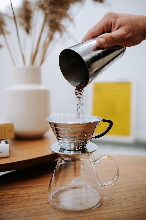 filtrovaná káva Kalita
